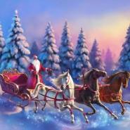 Праздник «Вместе встретим Новый год, или Как Дед Мороз Ягу перевоспитывал» фотографии