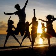 Танцевально-игровая программа «Закат-пати» фотографии