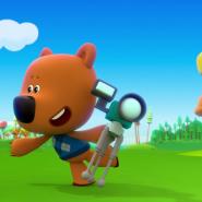 Показ мультфильма «Ми-ми-мишки: Мир будущего» фотографии