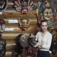 Выставка «Магические маски мира» фотографии