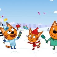 Спектакль «Три кота: С Новым годом!» фотографии