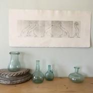 Выставка печатной графики Евгении Панфиловой фотографии