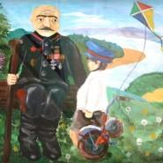 Выставка художественных работ, посвященная Дню Победы фотографии