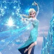 Новогодняя ёлка «Снежная принцесса» фотографии
