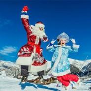 Фольклорный спектакль «Дед Мороз на каникулах» фотографии