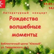 Концерт «Рождества волшебные моменты» фотографии