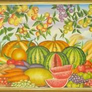 Выставка «Цветы и фрукты» фотографии