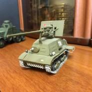 Выставка макетов военной техники. фотографии