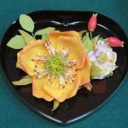 Мастер-класс «Цветы из фоамирана» фотографии