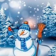 Игровая программа «Веселый снеговик» фотографии