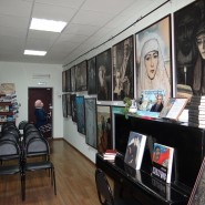 Выставка «Образы Н. С. Лескова в иллюстрациях Ильи Глазунова» фотографии