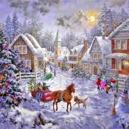 Литературная гостиная «Рождества волшебные мгновения» фотографии