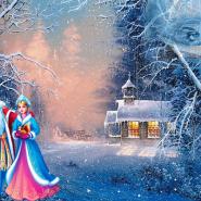 Новогодняя елка «Снежная сказка» фотографии