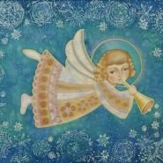 Мастер-класс «Рождественский ангел» фотографии