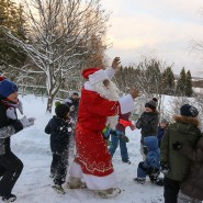 Новогодние программы «Время чудес или волшебный сундук Деда Мороза» в усадьбе капитана И. В. Тараканова фотографии