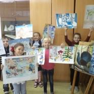 Выставка художественных работ «Зимняя сказка» фотографии