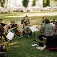 Лето, Музыка, Парк фотографии