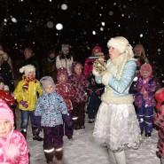 Акция «В этот славный зимний вечер мы зажжем на елке свечи!» фотографии