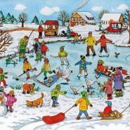 Развлекательная программа «Зимние забавы» фотографии