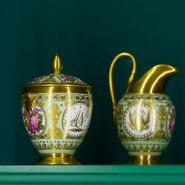 Выставка « Отражение изысканного вкуса. Фарфор из собрания князей Юсуповых» фотографии