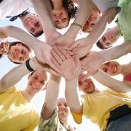 Развлекательная программа «Возьмемся за руки, друзья!» фотографии