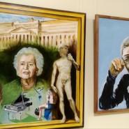 Выставка живописи «Сюжетный портрет» фотографии