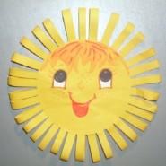 Мастер-класс по рисованию «Здравствуй, солнышко» фотографии