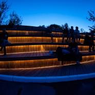Ночь искусств в Реутовском парке фотографии