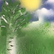 Мастер-класс«Spray paint art». фотографии