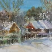Выставка «Зима вплетает свой сюжет» фотографии