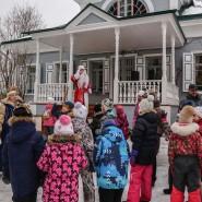 Фольклорный праздник «Рождественские гуляния» в усадьбе Шахматово фотографии