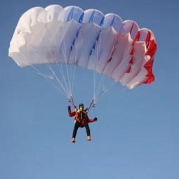 Информационный час «День парашютиста»