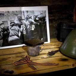 Деревня Пешки в военное время