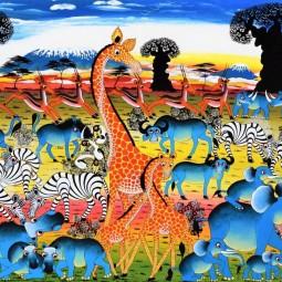 Выставка детских работ «Радужный мир»