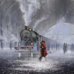 Показ записи литературной композиции «Баллада о прокуренном вагоне»