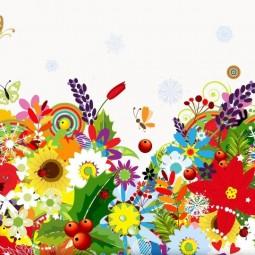 Выставка «Цветочная мозаика»