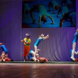 Показ записи цирковой композиции «Малыши»