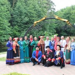 Концерт хора русской песни, посвященный 55-летнему юбилею коллектива