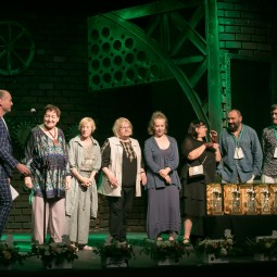 Торжественная церемония закрытия VII Международного театрального фестиваля «У Троицы»