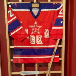 Онлайн-выставка одного экспоната. К Всероссийскому дню хоккея