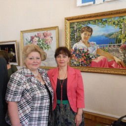 Открытие выставки «Весенний вернисаж»