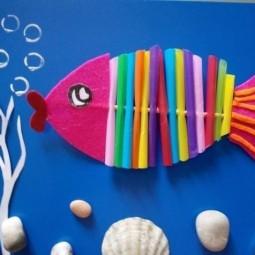 Мастер-класс по рукоделию «Рыбки»