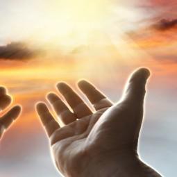 Показ записи исполнения песни «Молитва»
