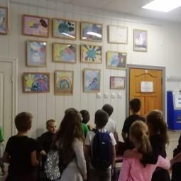 Выставка рисунков «Рисуют дети»