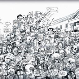 Виртуальная выставка «Портретная карикатура в графике и живописи»
