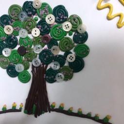 Мастер–класс «Чудо–дерево»