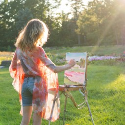 Онлайн урок рисования и творчества