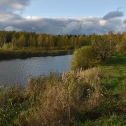 Виртуальная фотовыставка «Осенний день на торфяном озере»