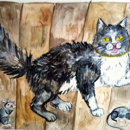 Онлайн-программа «Читаем детям. Л.Н. Толстой «Кот с бубенцом»