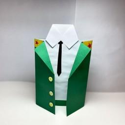 Виртуальный мастер – класс «Подарок папе»